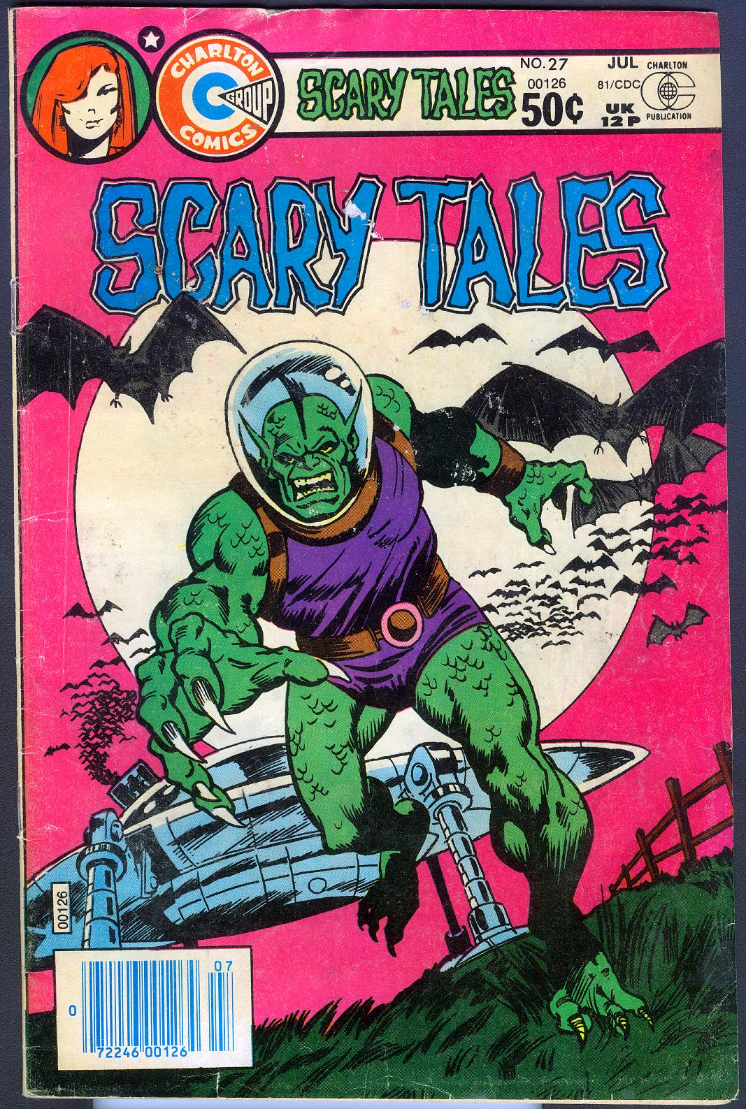 Scary Tales (Charlton) 27 -G