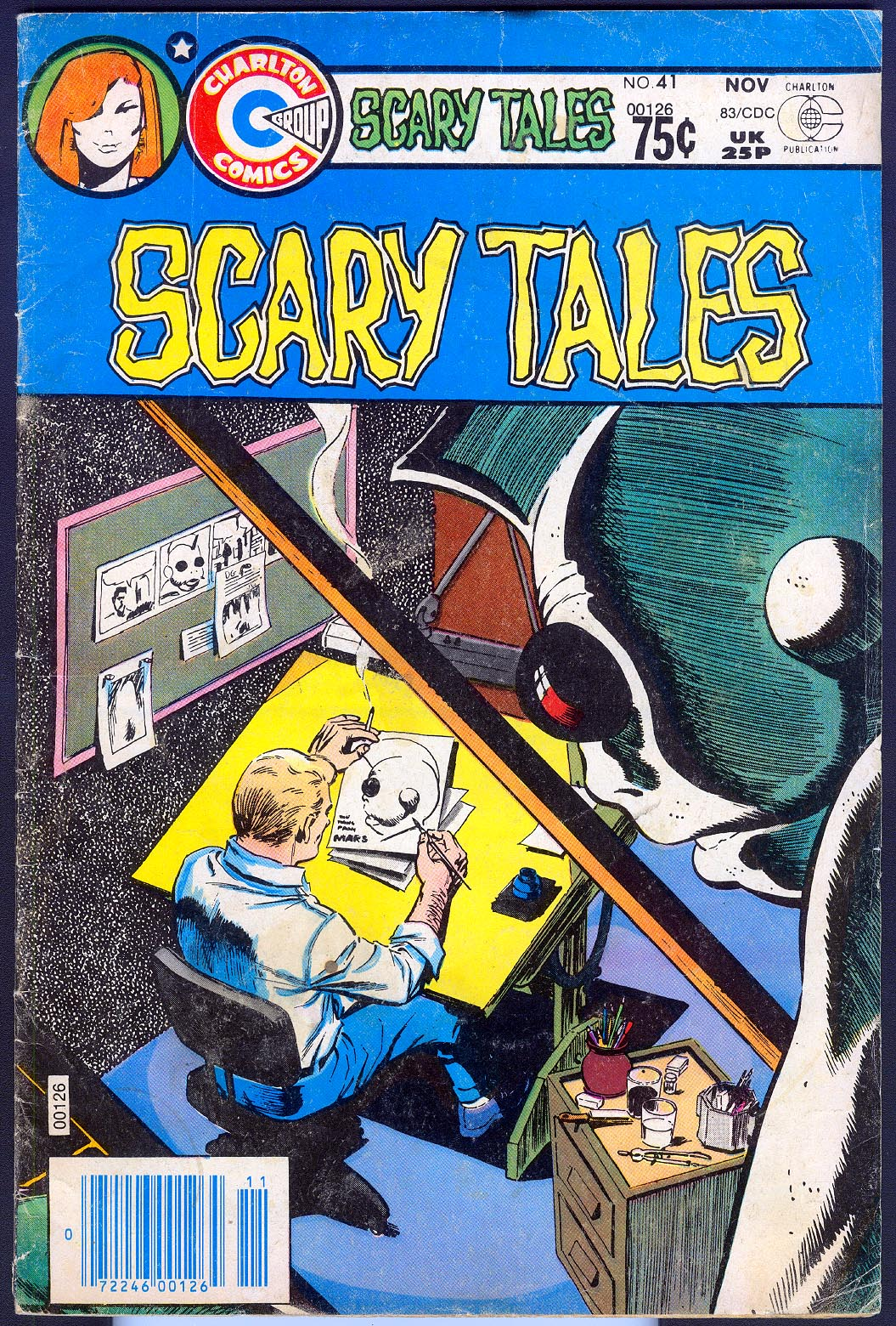 Scary Tales (Charlton) 41 -VG