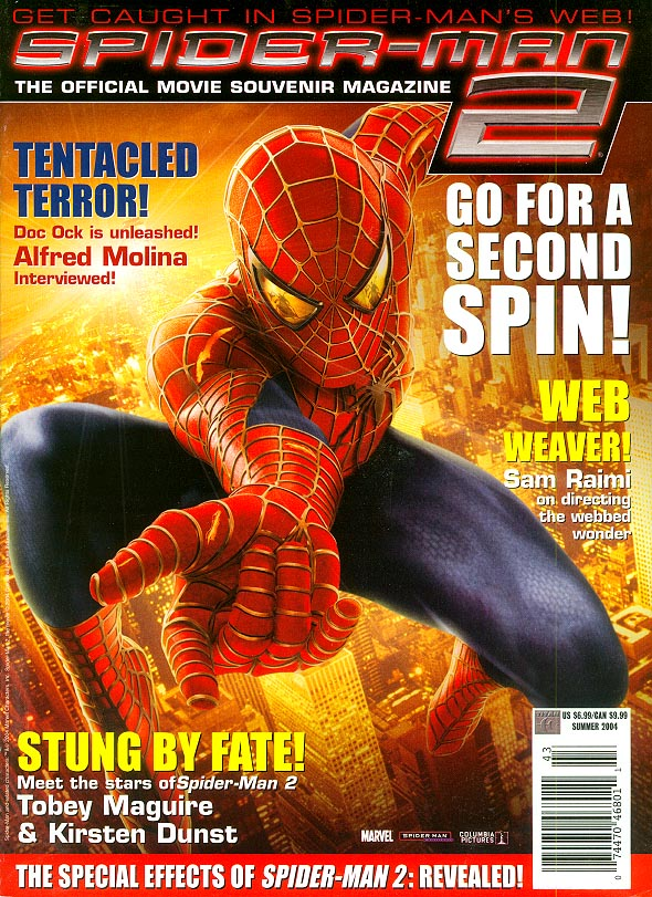 Spider-Man 2 The Official Movie Magazine