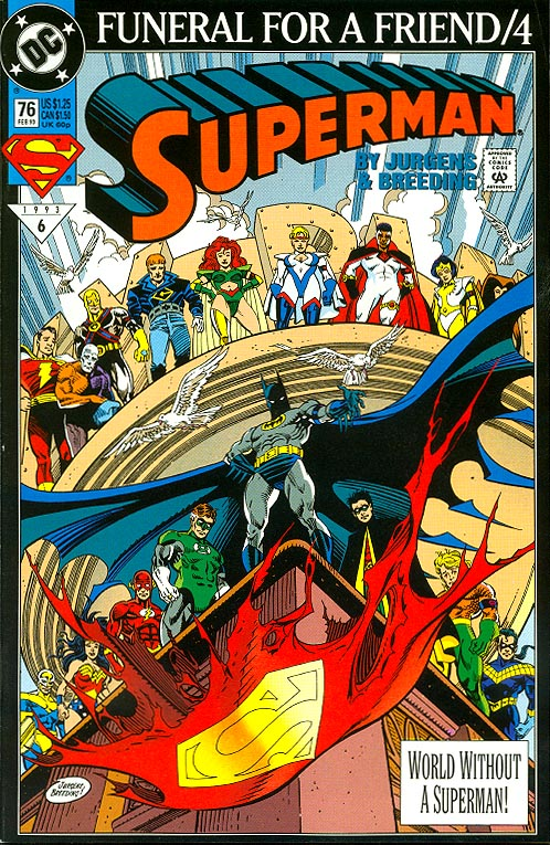 Superman vol 2 - 76 -VF