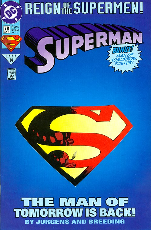 comic Superman 78 VF 1993