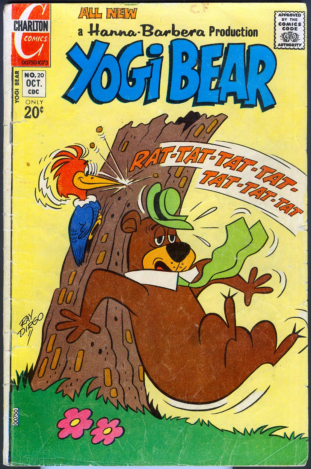 Yogi Bear (Charlton) vol 2 - 20 -VG