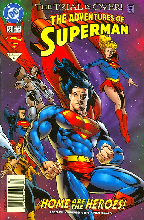 Adventures Of Superman 531 -VF