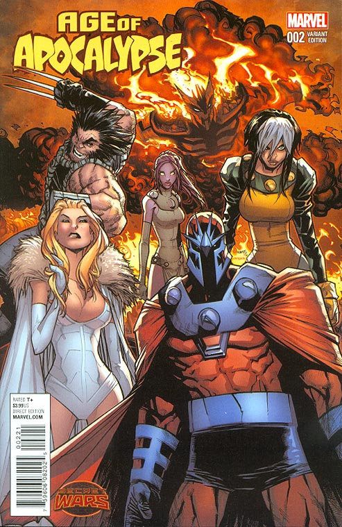 Age Of Apocalypse vol 2 - 2 ( 1 in 25 Humberto Ramos Variant)