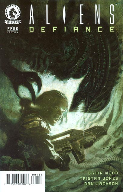 Aliens Defiance Preview Ashcan-VF