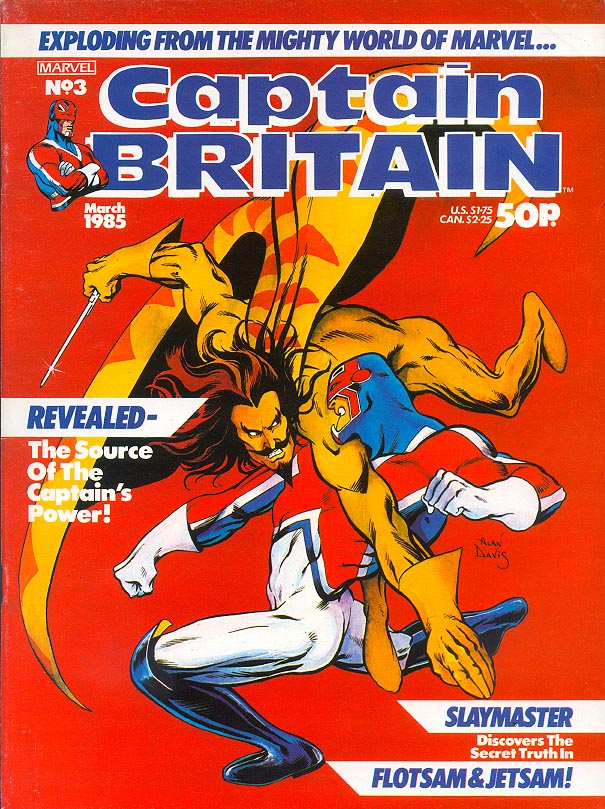 Captain Britain (Magazine) 3 -VF