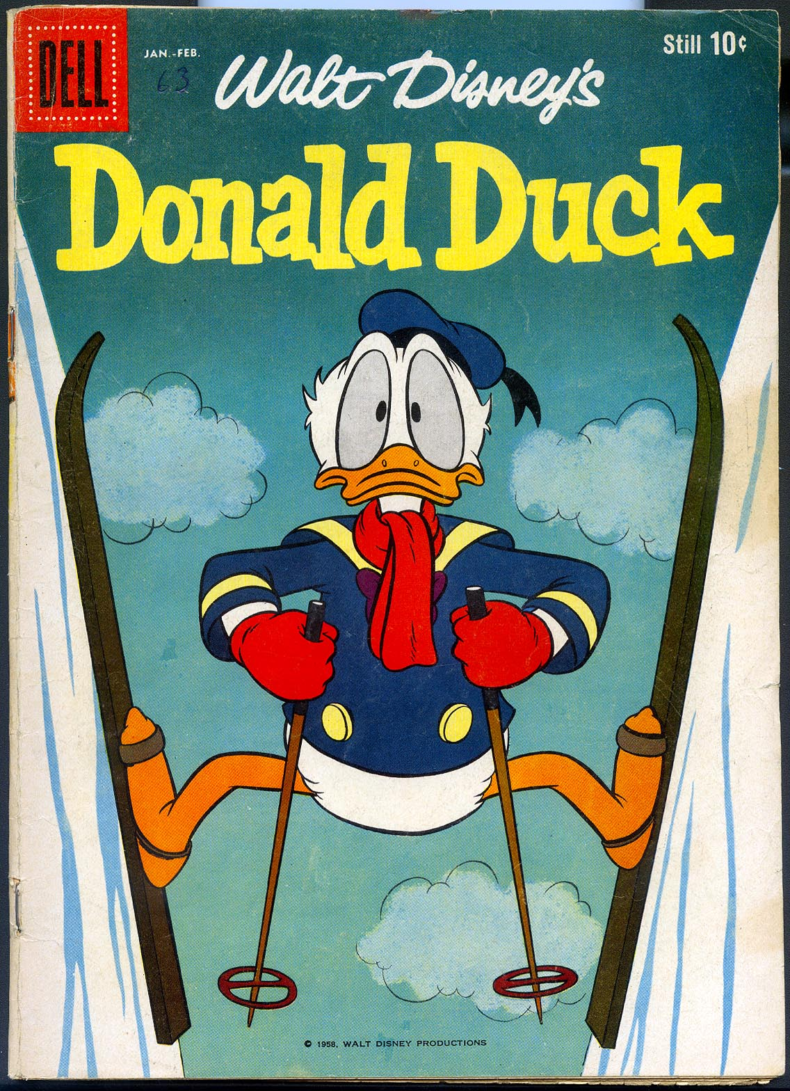 Donald Duck (Dell) 63 -F