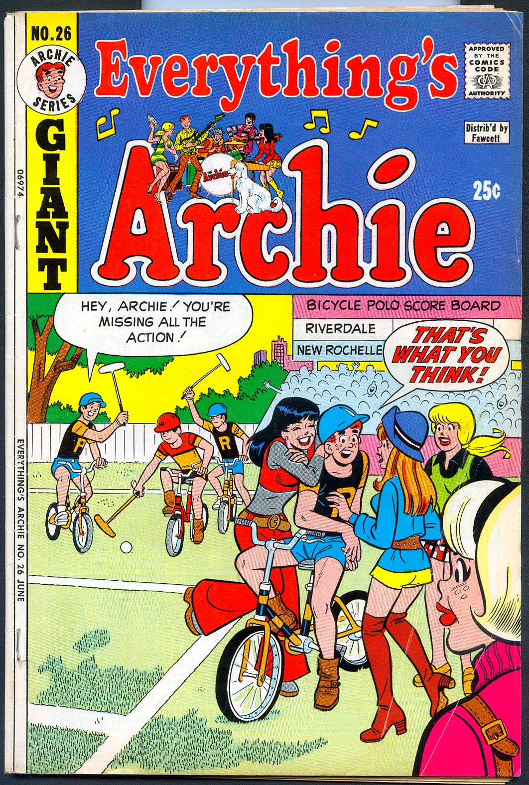 Everythings Archie 26 -VG