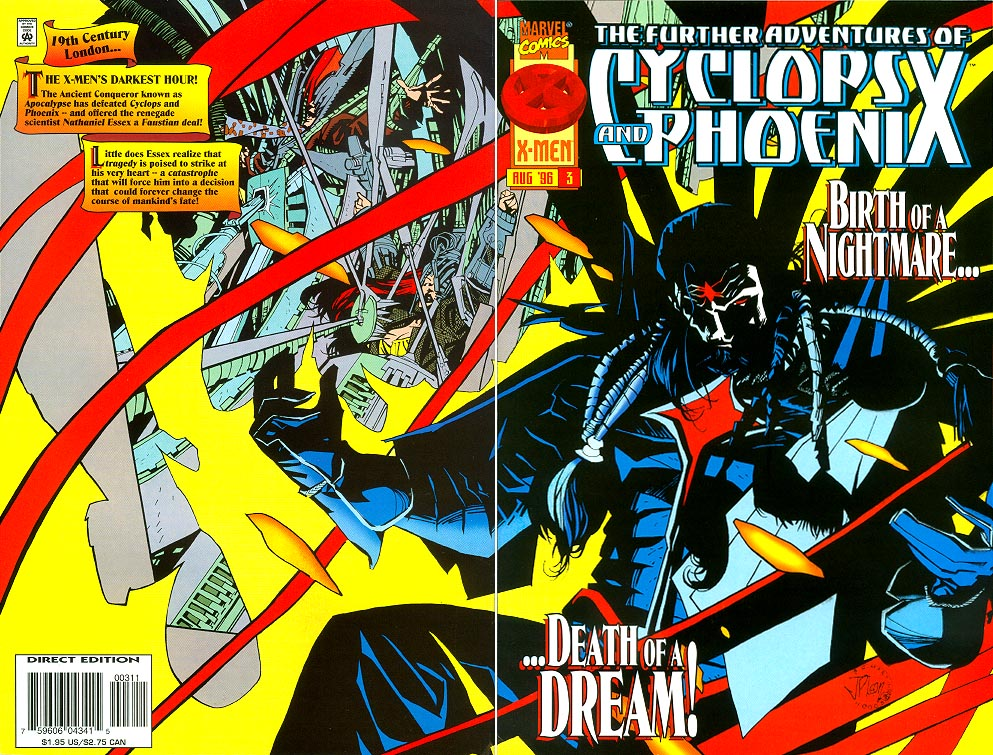 Further Adventures Of Cyclops And Phoenix 3 (Wrap Cvr) -VF