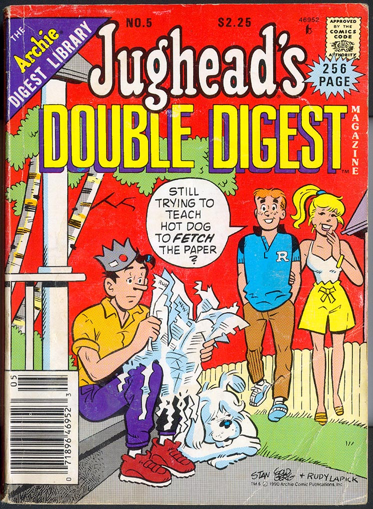 Jugheads Double Digest 5 -VG