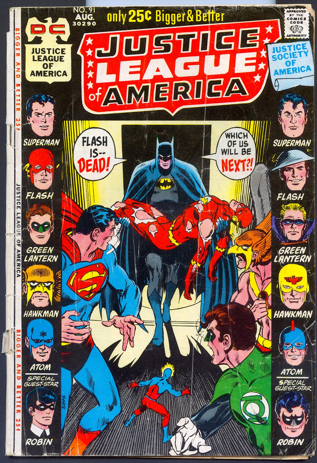 Justice League Of America 91 -G