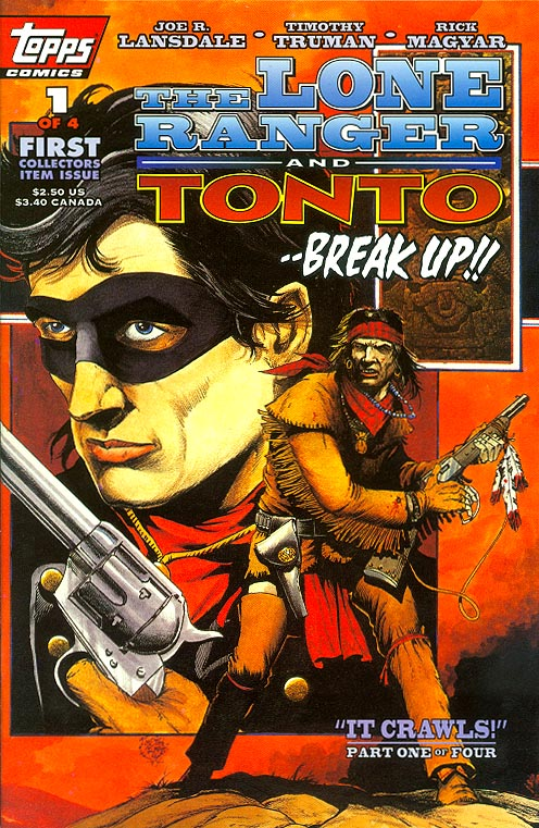 Lone Ranger And Tonto (Topps) 1 (of 4 )