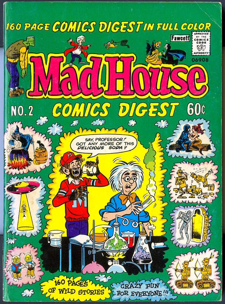 Mad House Comics Digest 2 -VF