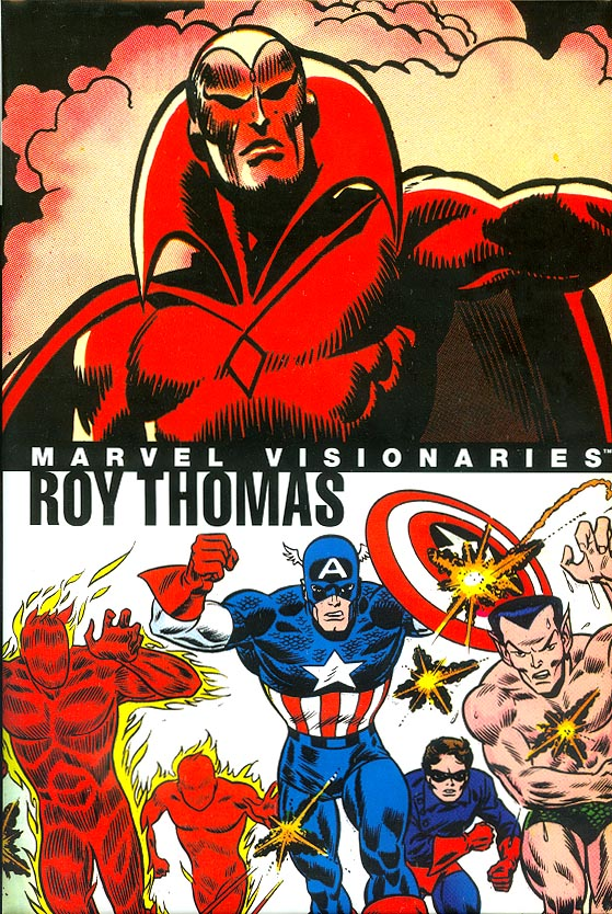 Marvel Visionaries Roy Thomas HC 1
