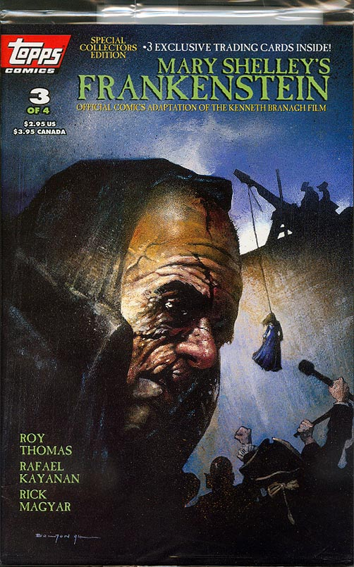 FRANKENSTEIN MOBSTER #0 SET OF A /& B COVERS MARK WHEATLEY NM-
