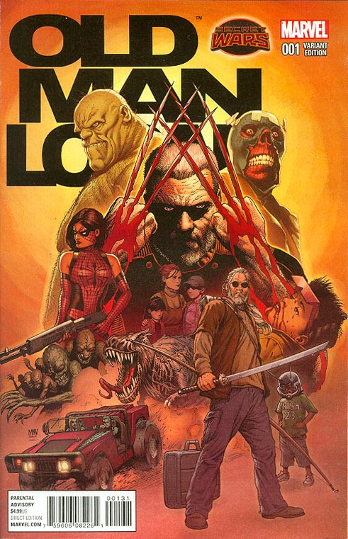 Old Man Logan 1 ( 1 in 25 Steve Mc Niven Variant)