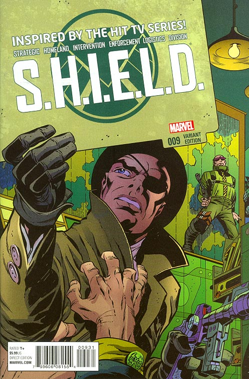 Shield vol 3 - 9 ( 1 in 50 Kirby And Steranko Variant)