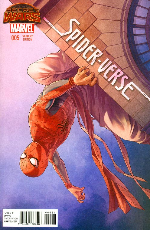 Spider-Verse 5 ( 1 in 25 Jamal Campbell Variant)