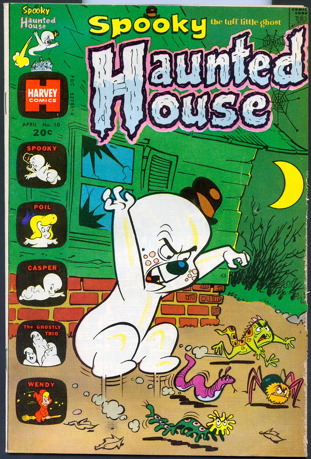 Spooky Haunted House 10 -VG