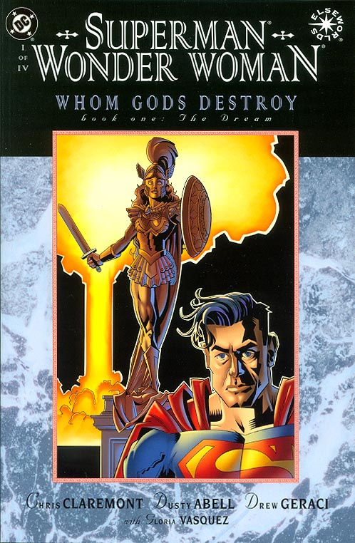 Superman Wonder Woman Whom Gods Destroy 1