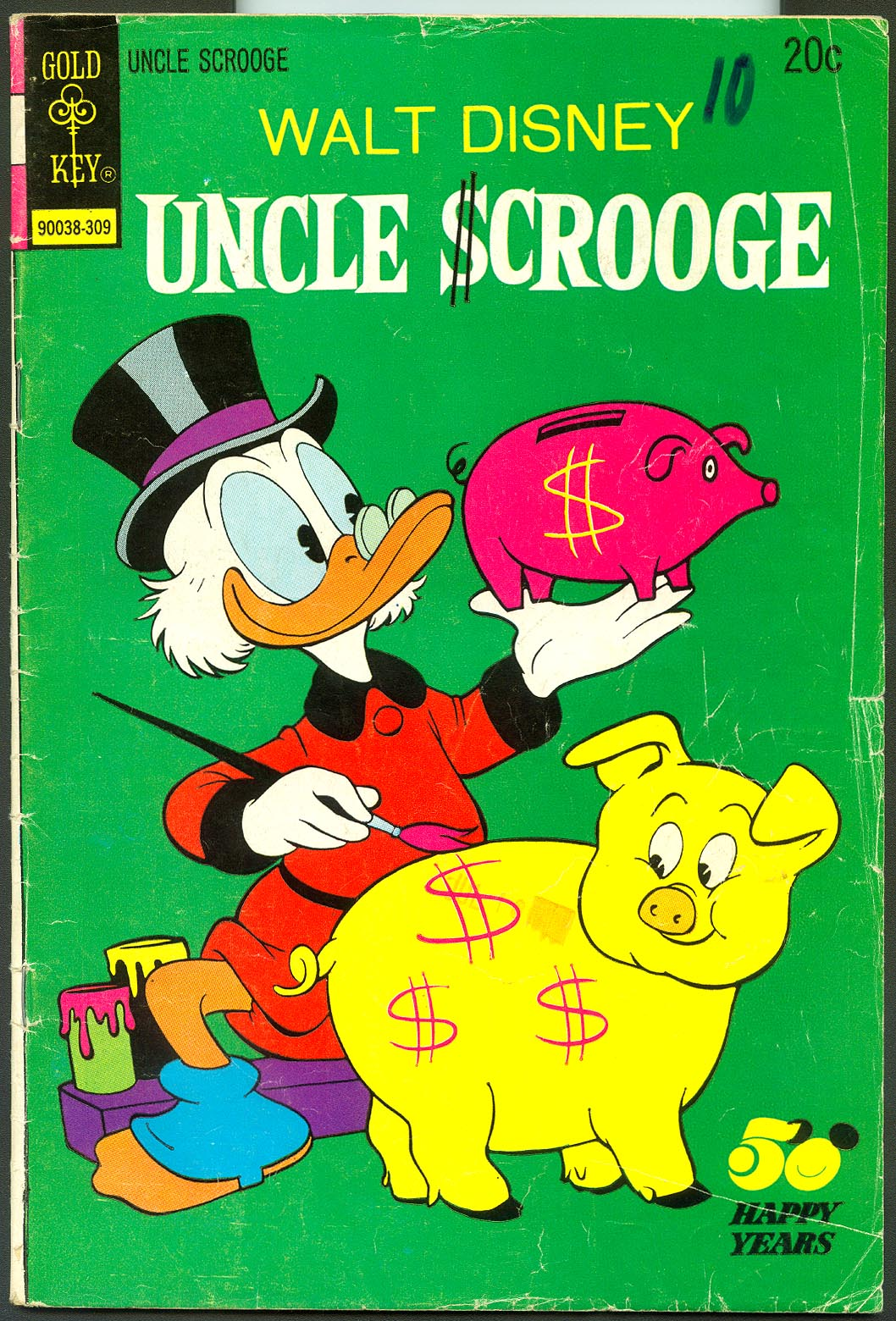 Uncle Scrooge (Gold Key) 107 -G