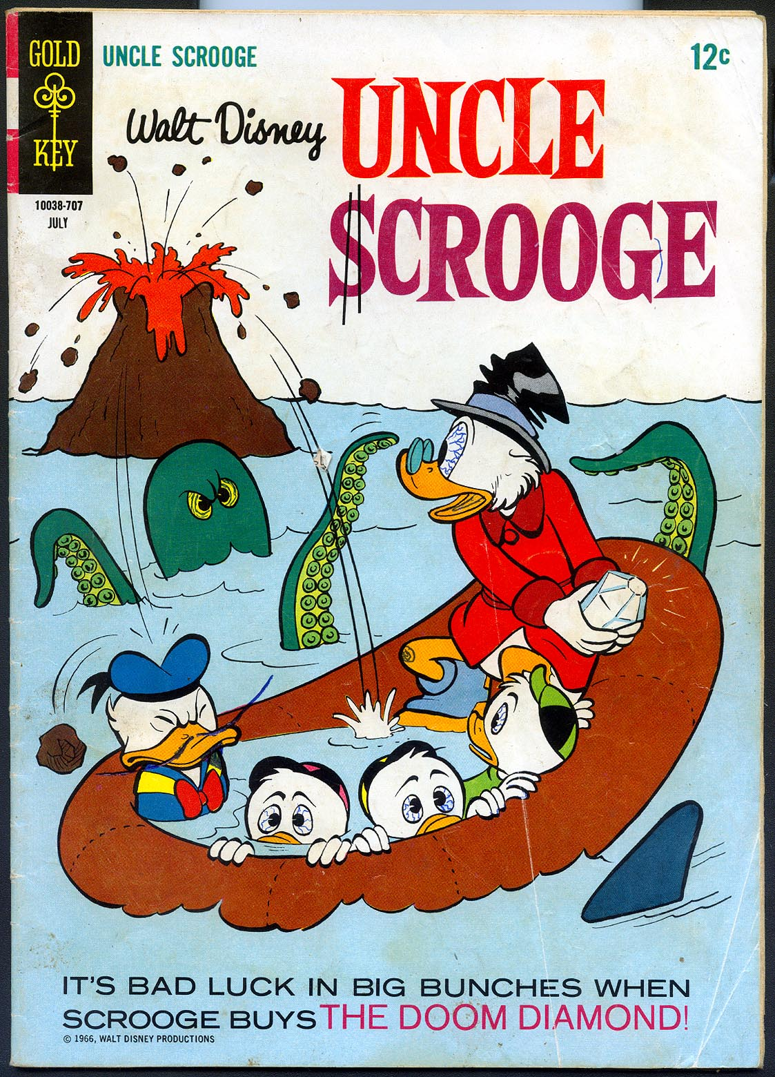 Uncle Scrooge (Gold Key) 70 -G