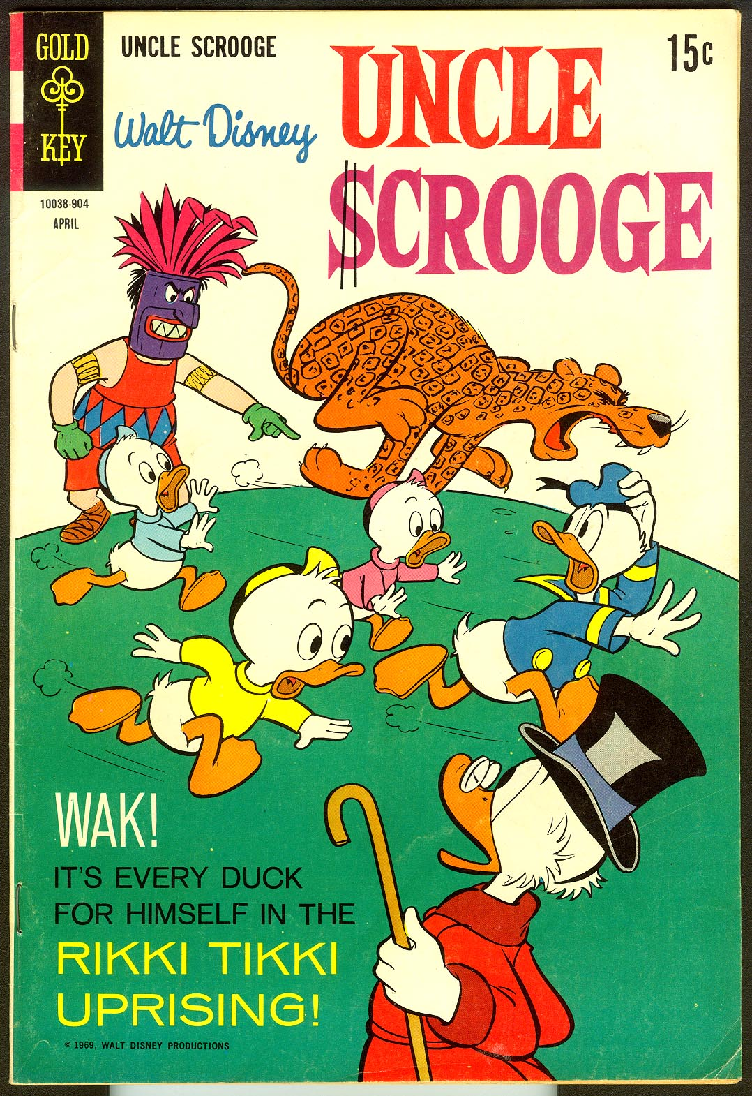 Uncle Scrooge (Gold Key) 80 -FVF