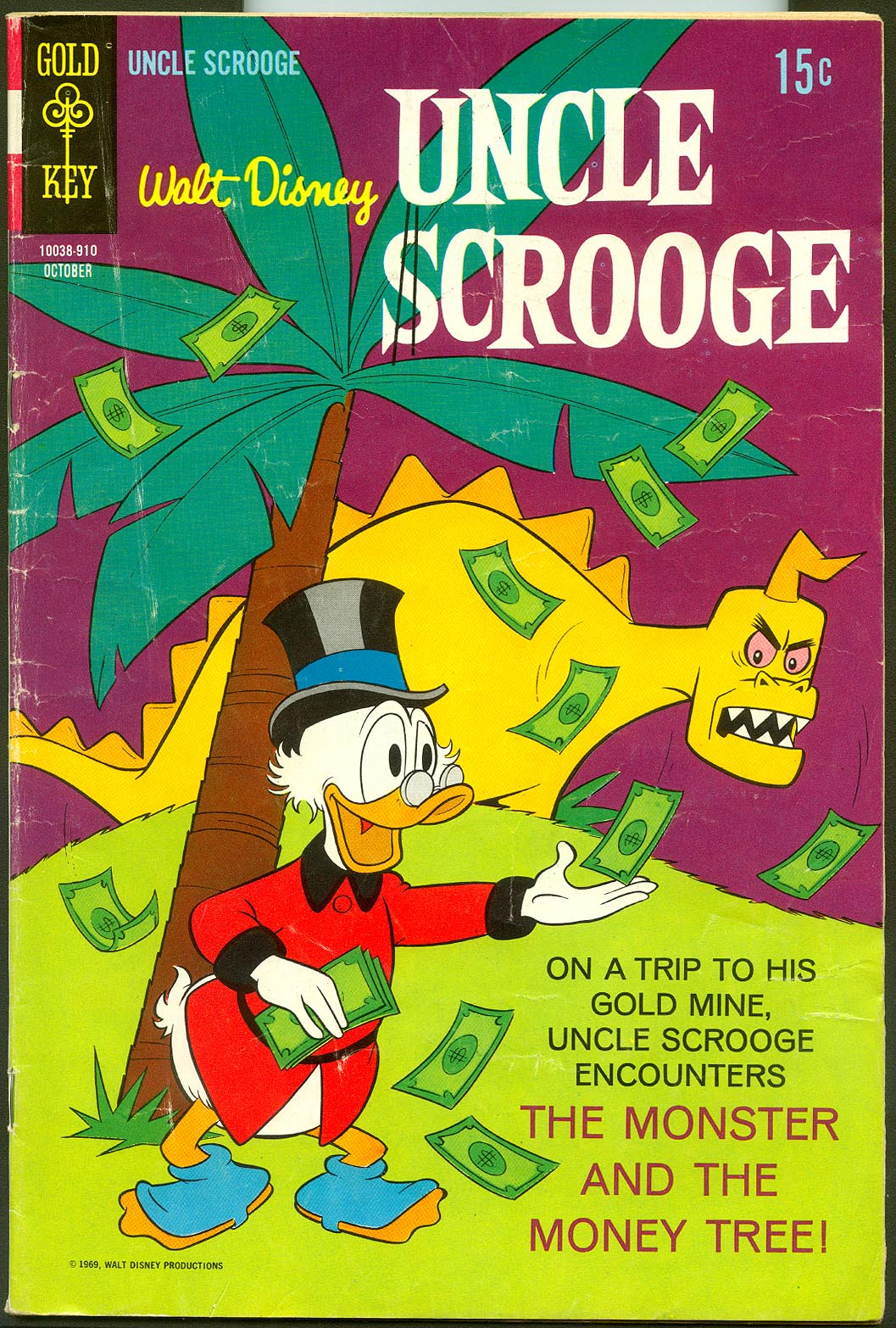 Uncle Scrooge (Gold Key) 83 -G