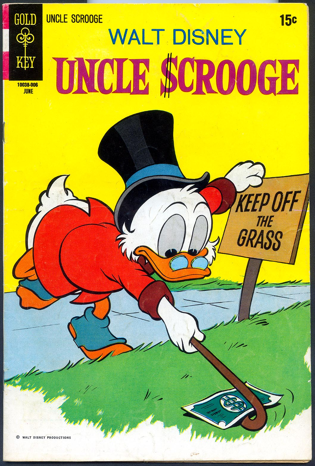 Uncle Scrooge (Gold Key) 87 -F