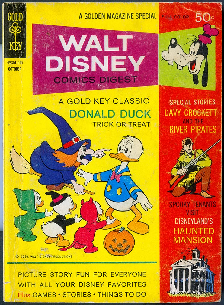 Walt Disney Comics Digest 16 -VG