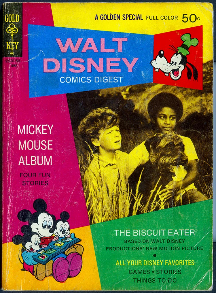 Walt Disney Comics Digest 35 -VG
