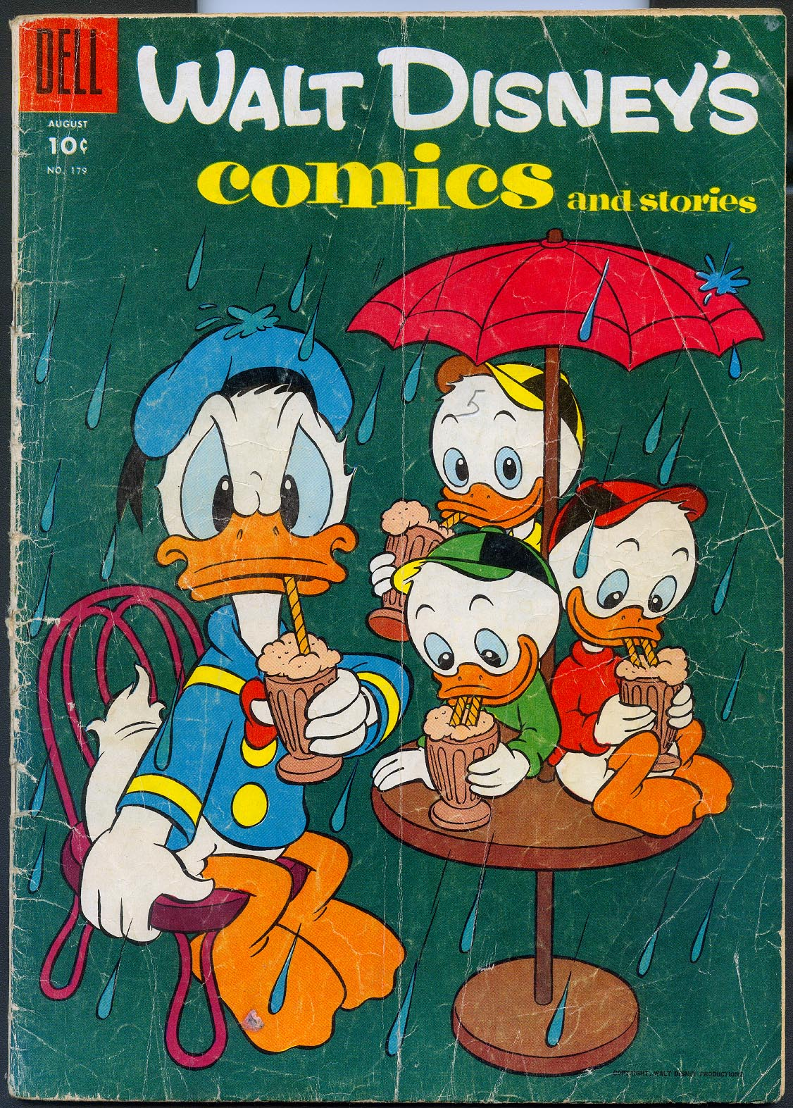 Walt Disneys Comics and Stories (Dell) 179 -G