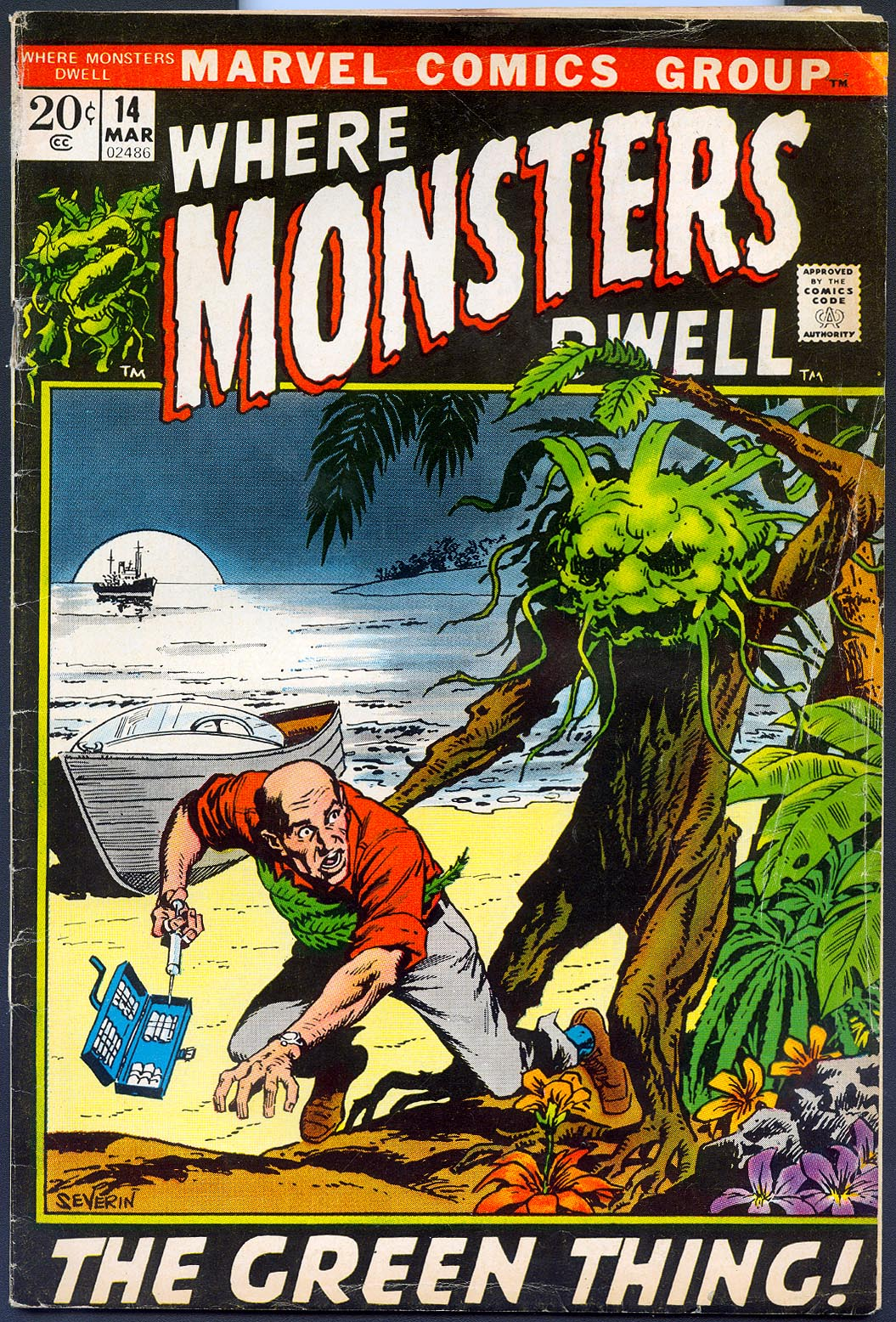 Where Monsters Dwell 14 -VG