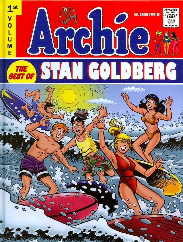 Archie The Best Of Stan Goldberg HC 1