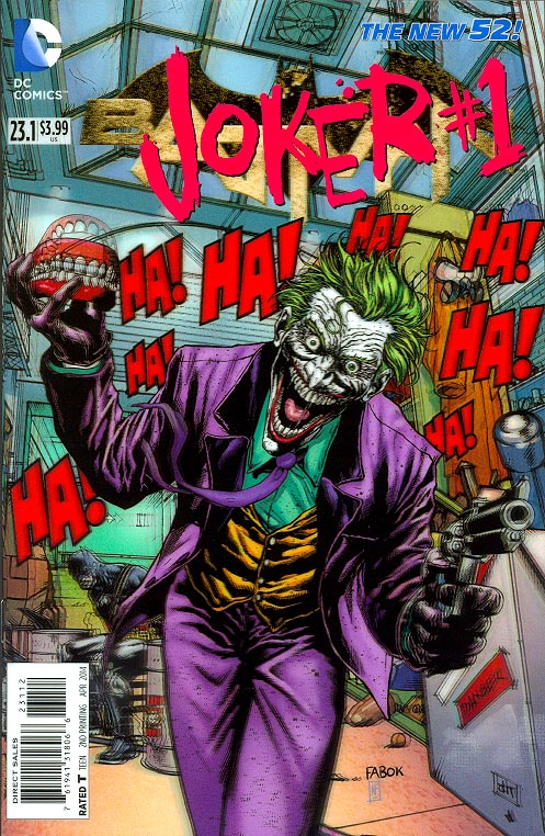 Batman vol 2 - 23 point 1 (Joker 1 3 -D Motion Cover)