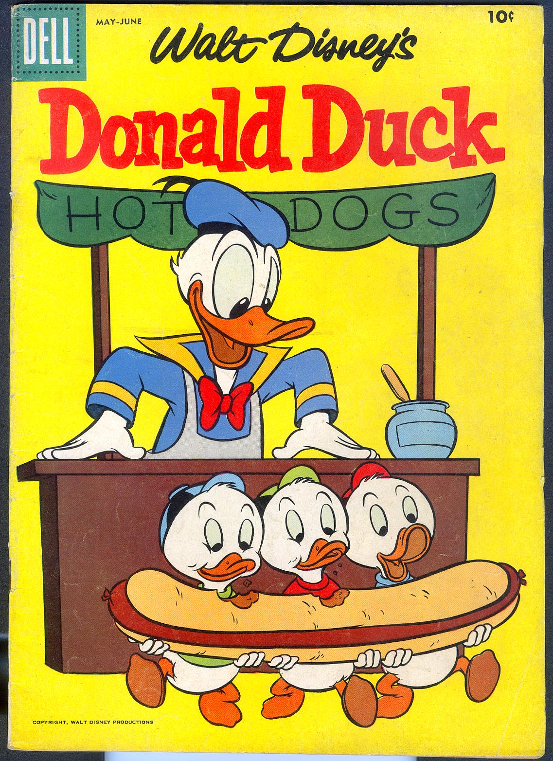 Donald Duck (Dell) 53 -FVF