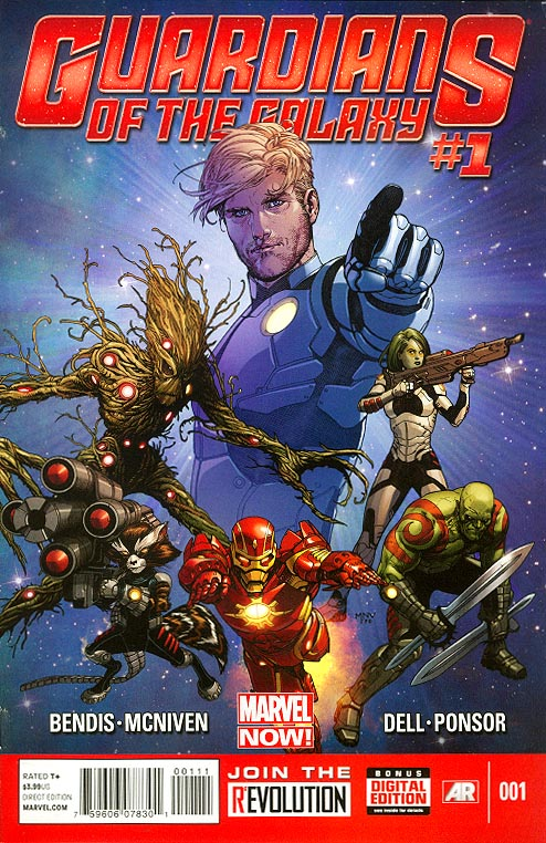 Guardians Of The Galaxy vol 3 - 1 (Steve Mc Niven Cover)