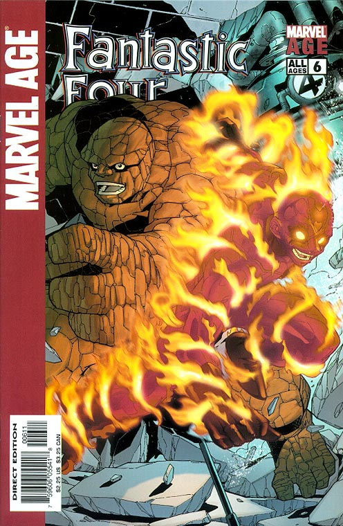 Marvel Age Fantastic Four 6