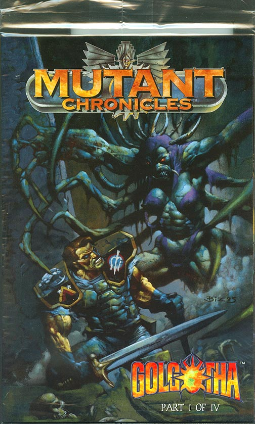Mutant Chronicles Golgotha 1 (of 4 ) (Polybagged With Card)