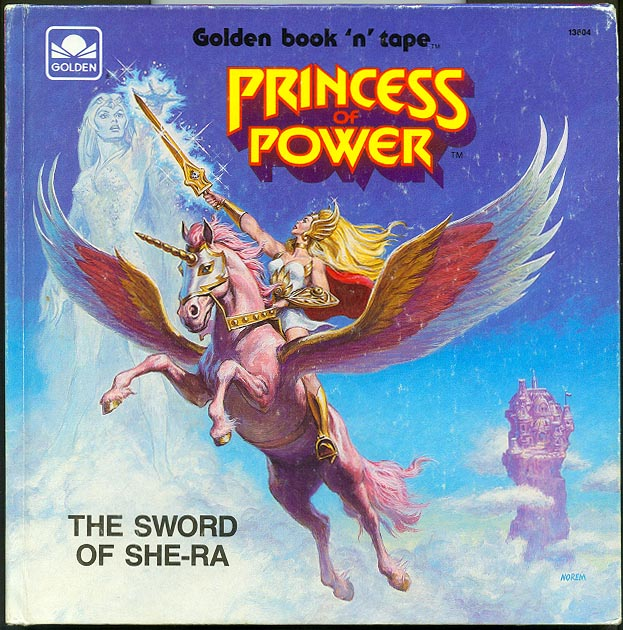 Princess Of Power The Sword Of She-Ra (Golden Book)