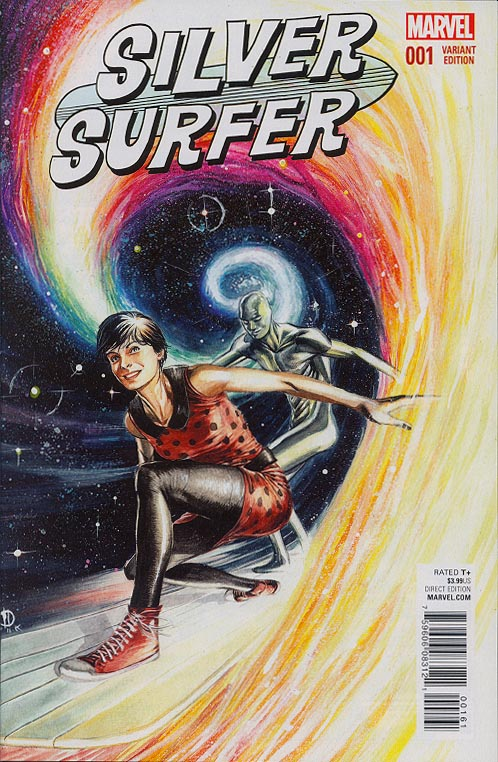 Silver Surfer vol 8 - 1 ( 1 in 25 Marco Rudy Variant)