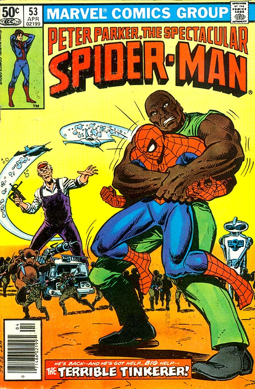 Spectacular Spider-Man 53 -VF