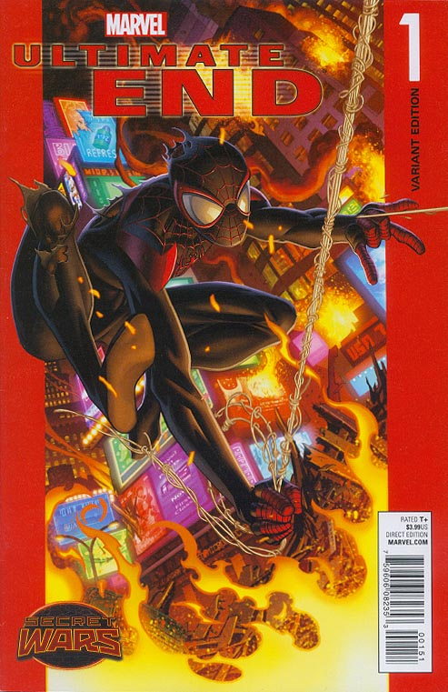 Ultimate End 1 (Mark Bagley Spider-Man Variant)