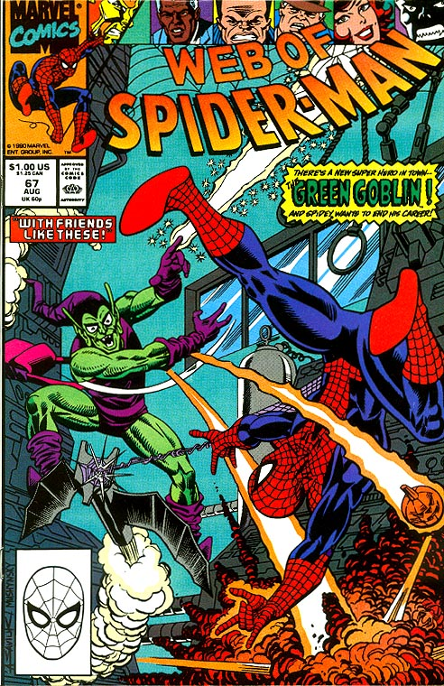 Web Of Spider-Man 67 -VFNM