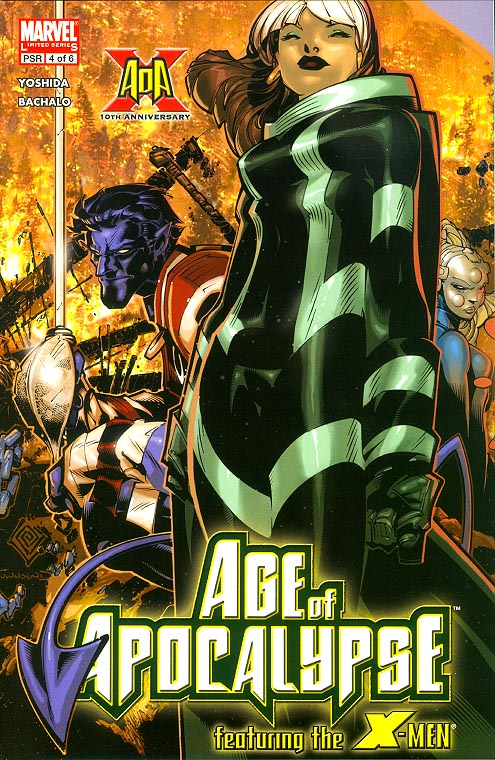 X-Men Age Of Apocalypse 4 (of 6 )