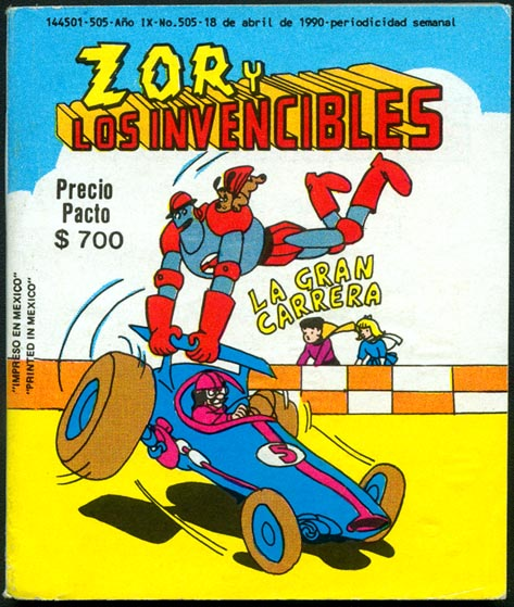 Zor Y Los Invencibles 505 (Published In Mexico)