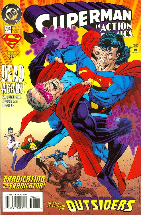 Action Comics 704 (Newstand Ed)