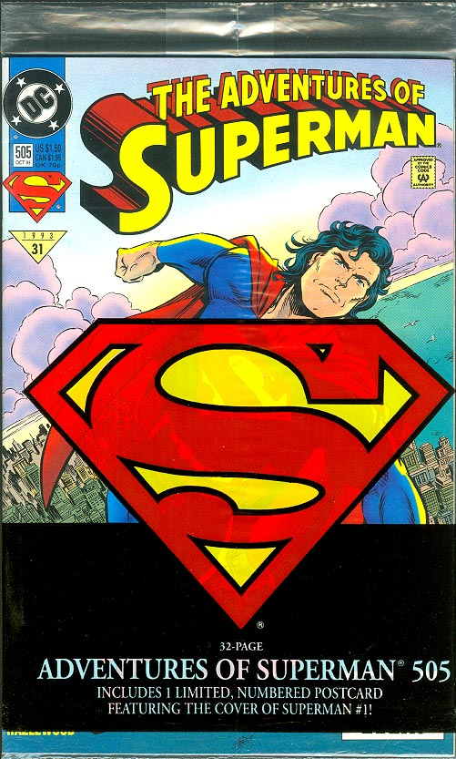 Adventures Of Superman 505 (Polybagged)