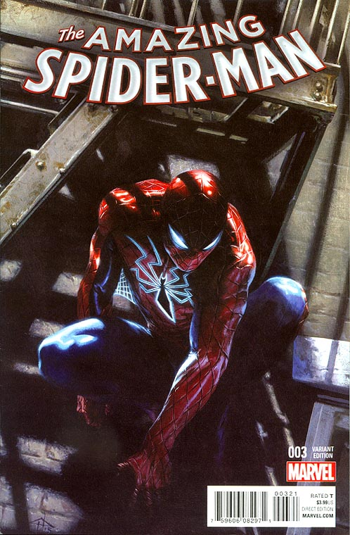 Amazing Spider-Man vol 4 - 3 ( 1 in 25 Gabriele Dell Otto Variant)
