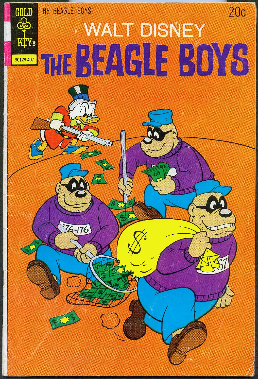 Beagle Boys (Gold Key) 21 -VG